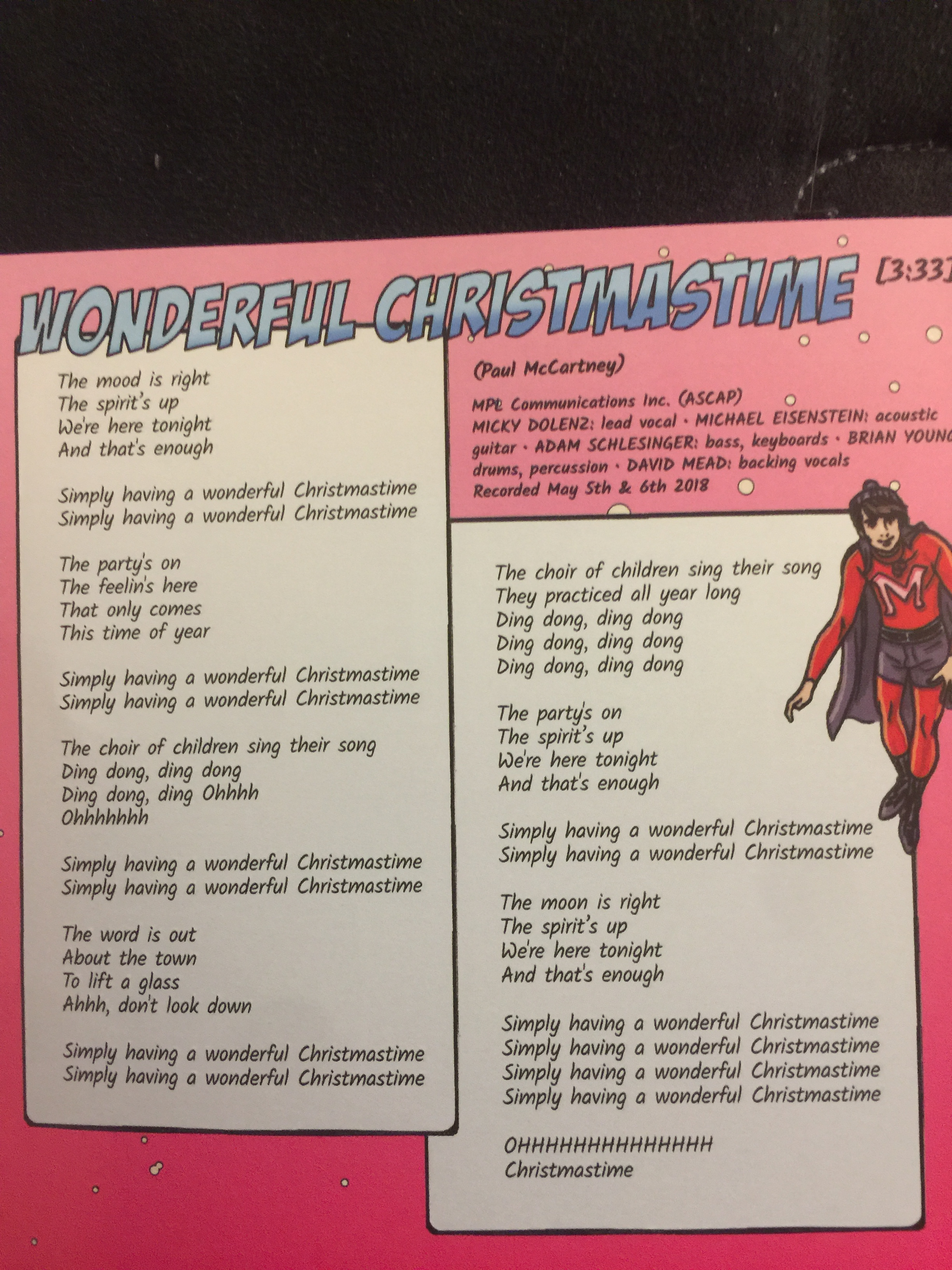 were here tonight and thats enough reviewing the monkees christmas party fandom lenses - Simply Having A Wonderful Christmas Time Lyrics